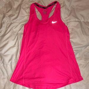 Hot Pink Nike Tank Top